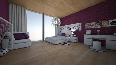 Daisy Dream Room - Feminine - Bedroom - by agirlwithdreams
