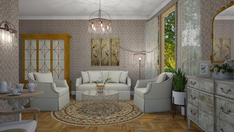 M_Hickory_new - Living room - by milyca8