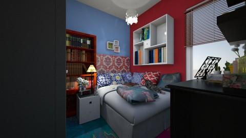 bedroom - Bedroom - by Gabriela Vaca Pliego