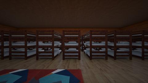 huis oorlog klaar - Bedroom - by Fleurluitjes