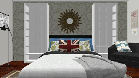 London Room - Modern - Bedroom - by emmakingz