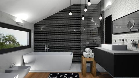 Attic bath - by rossella63