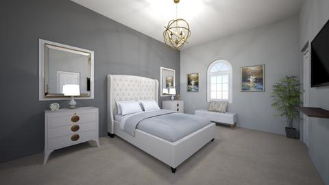 Master Bedroom 1 - Modern - Bedroom - by Christine Ward_877