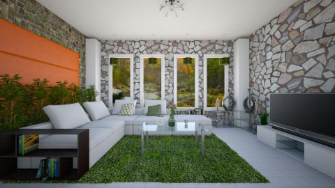 minimal natural bamz - Modern - Living room - by abraham samangun