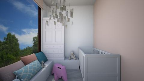 Pink Elephant in the room - Kids room - by AML Design