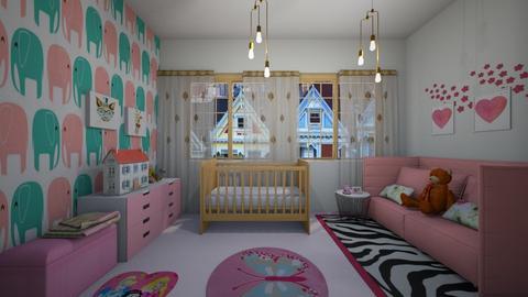 FOR babygirl - Kids room - by Tara T