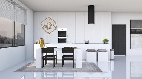 Minimalistic Kitchen - Minimal - Kitchen - by HenkRetro1960