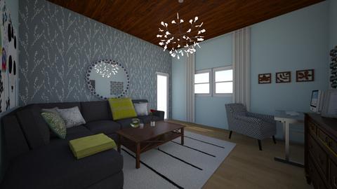 t - Living room - by angelapotato
