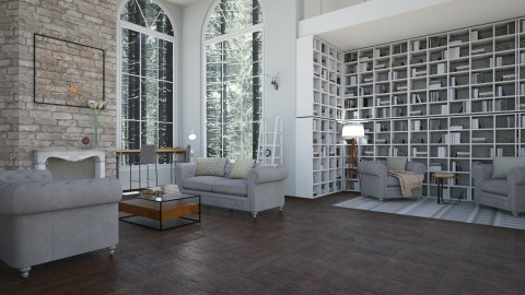 Library  - by _xandra_