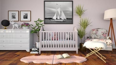 Pink Nursery  - Kids room - by deleted_1533572626_Gabby Lovell