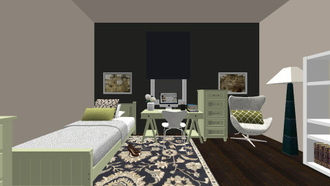 asian touch - Classic - Bedroom - by blingirl