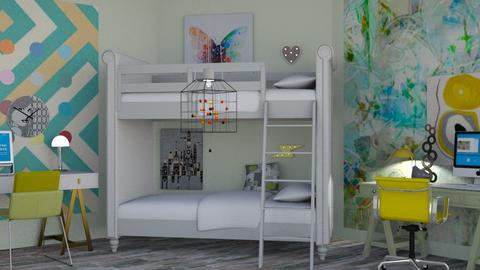 Art styles - Modern - Kids room - by augustmoon
