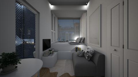 Casa323LivingandSleeping - Living room - by nickynunes