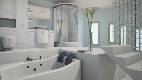 valamixd - Minimal - Bathroom - by Nightwasp
