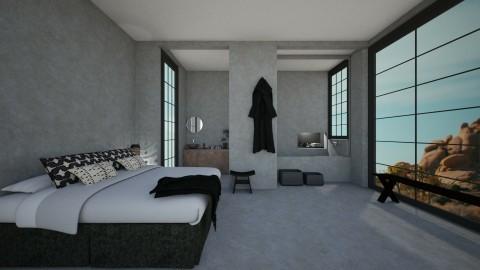 Casa101 - Minimal - Bedroom - by nickynunes