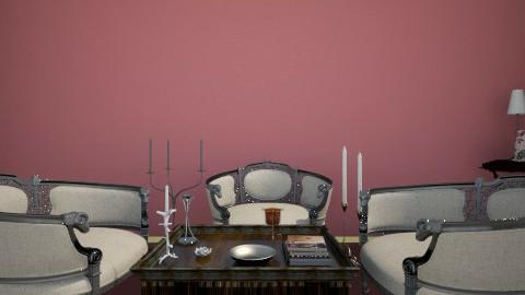 Sala modelo cuadros 1 - Living room - by elisamaturana