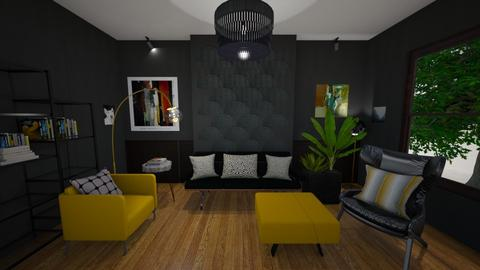 Modern Midcentury - Living room - by Rebeka Kri