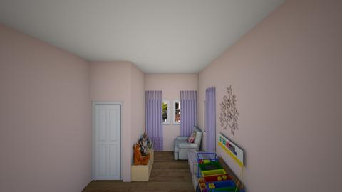 Girls PlayRoom - Feminine - Kids room - by annatyler08