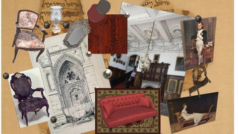 Victorian Mood Board - by victoriasell