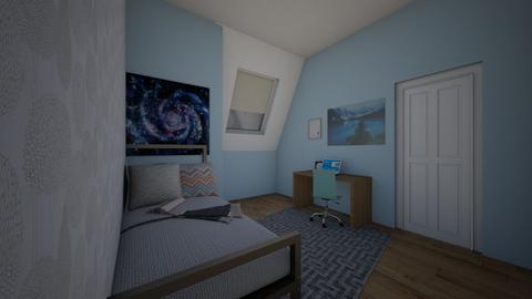 Attic Room - Feminine - Bedroom - by Faybulous23