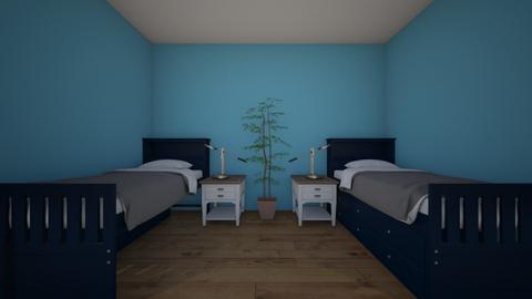 Amanda Lick kids bedroom1 - Kids room - by Chargers01