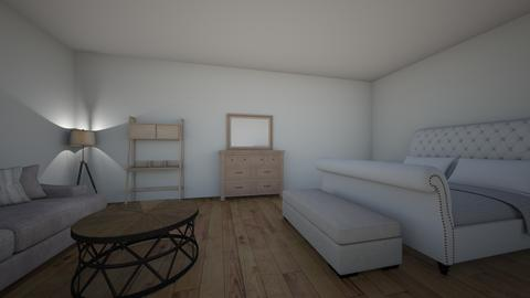 bed - Bedroom - by larnie