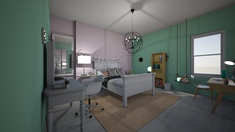 My real life bedroom - Bedroom - by Zaria UwU