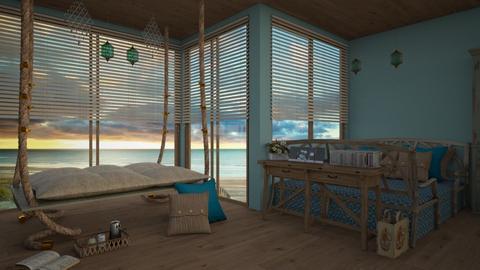 bali - Bedroom - by daydreamer84