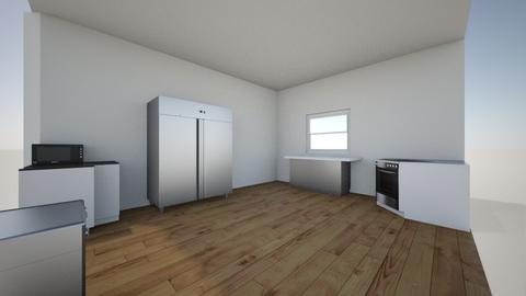kitchen layout - Kitchen - by Jchacon15