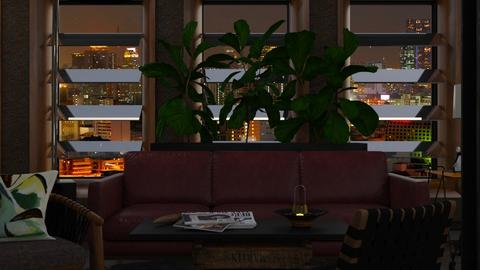 Loft 01 - Eclectic - Living room - by evahassing