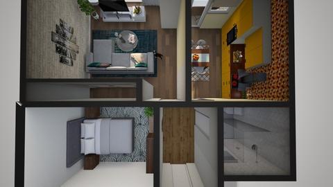 bucatarie jkui - Modern - Kitchen - by hauser