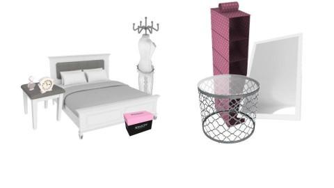 Cute Bedroom  Light Pink - by Bae_Xx