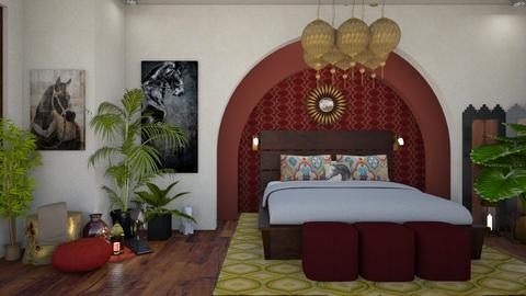 Horse Bedroom - Bedroom - by raim