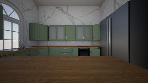 dream kitchen - Kitchen - by shaverr