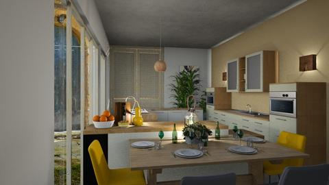yellow1 - Kitchen - by BortikZemec