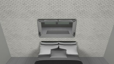 the bed - Minimal - Bedroom - by theracoon