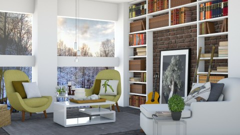Just one step  - Eclectic - Living room - by Lucii