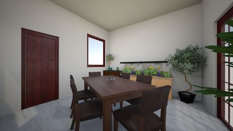 Dining peace 2 - Dining room - by Blueflamingo