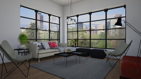 Doorwindowtest - Living room - by Tuija