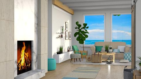 Beach House 1 - Modern - Living room - by millerfam