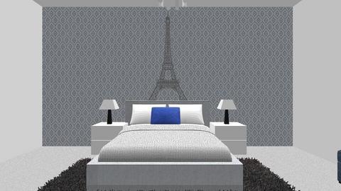 Teenage Bedroom - by Evelyn MacRae