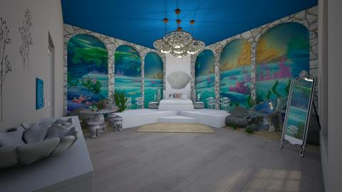 Little Mermaid bedroom - Modern - Bedroom - by CreativeCreations