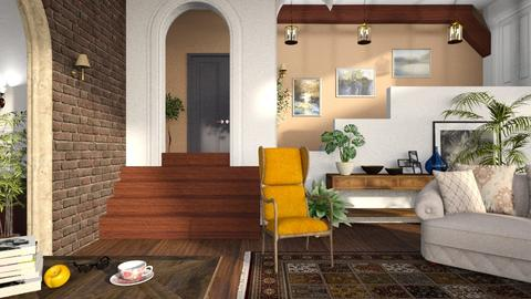 What about eclectic - Living room - by Inna_Inas