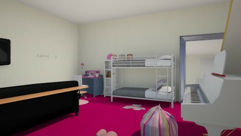 Uli i Lenki  - Glamour - Kids room - by frodo2002