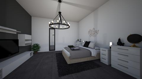 modern guest bedroom any  - Modern - Bedroom - by jade1111