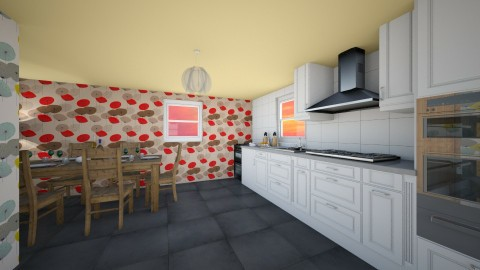Kitchen and dining - Classic - Kitchen - by Hearts_3at_Potatoes