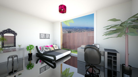 Glossy bedroom x - Modern - Bedroom - by Denitza Marinova