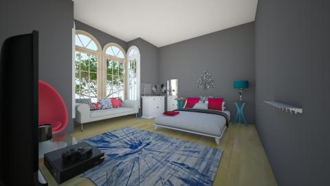 Teen Bedroom - Bedroom - by Mia Bella