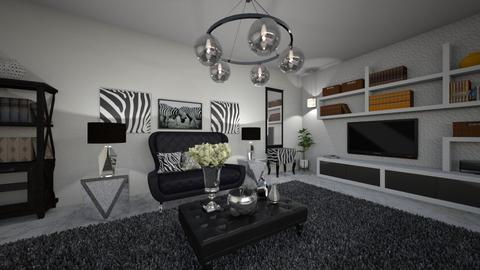 zebra 2 - Living room - by virgen