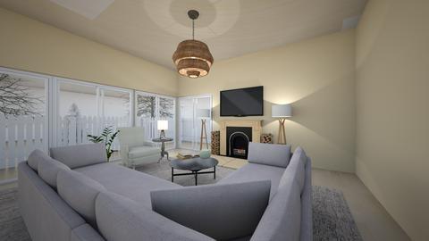 Get away living room - Living room - by laurenluka
